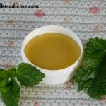 Hand balm with lemon balm recipe.