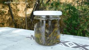 Homemade Infused Oil of Sweet Marjoram